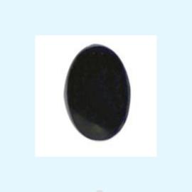Veiligheidsoogjes ovaal zwart vanaf 6 mm