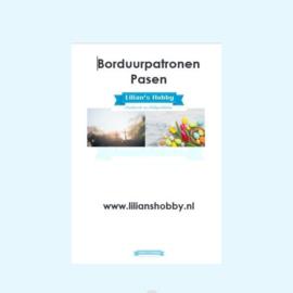 Borduurpatronenboekje digitaal met Paaspatronen - LielDesign