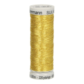 7001  Gütermann metallic 200 m goud