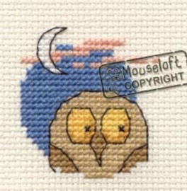 Borduurpakket owl - Mouseloft