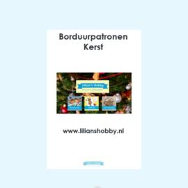 Borduurpatronenboekje digitaal met Kerstpatronen - LielDesign