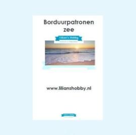 Borduurpatronenboekje digitaal met zeepatronen - LielDesign