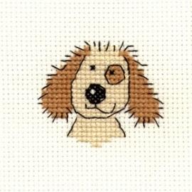 Borduurpakket cuddly dog - Mouseloft