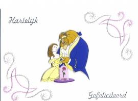 Gefeliciteerd Belle en het Beest