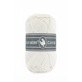 Durable Coral 326 Ivory 50 gram