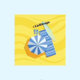 Borduurpatroon zomer digitaal gratis - LielDesign