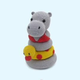 Haakpakket Helga het nijlpaard - Hardicraft