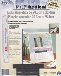magneetbord met lineaal 20,3 x 25,4 cm  dc-mb8r