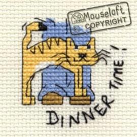Borduurpakket dinner time - Mouseloft