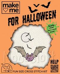Borduurpakket Halloween! vleermuis - Mouseloft