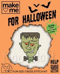 Borduurpakket Halloween! Frankenstein - Mouseloft