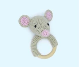 Haakpakket rammelaar muis - Hardicraft