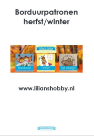 Borduurpatronenboekje herfst-/winterpatronen