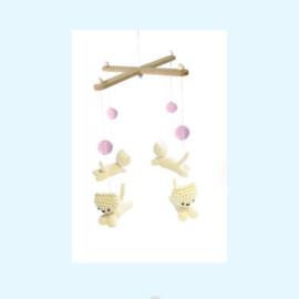Haakpakket mobiel poesjes - Hardicraft