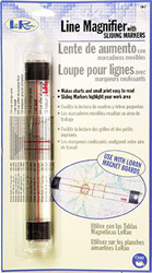Line Magnifier with sliding markers T_dc-lm2 loran