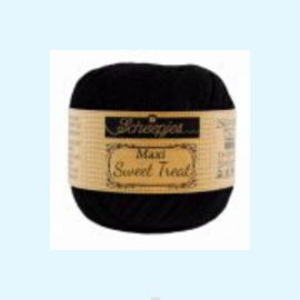 Scheepjes maxi sweet treat black 110 - 25 gram