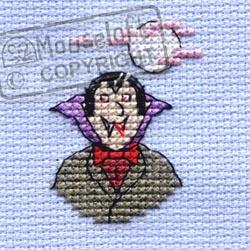 Borduurpakket vampire - Mouseloft