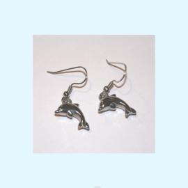 Dolfijnen oorbellen