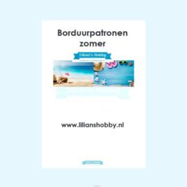 Borduurpatronenboekje digitaal met zomerpatronen - LielDesign