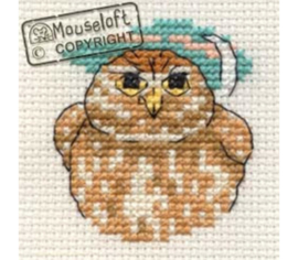 Borduurpakket little owl - Mouseloft