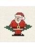 Borduurpakket Santa - Mouseloft