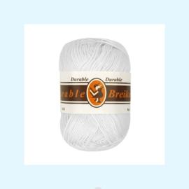 durable brei-/haakkatoen wit