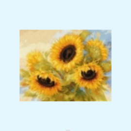 Borduurpakket sunflower dreams - Alisa