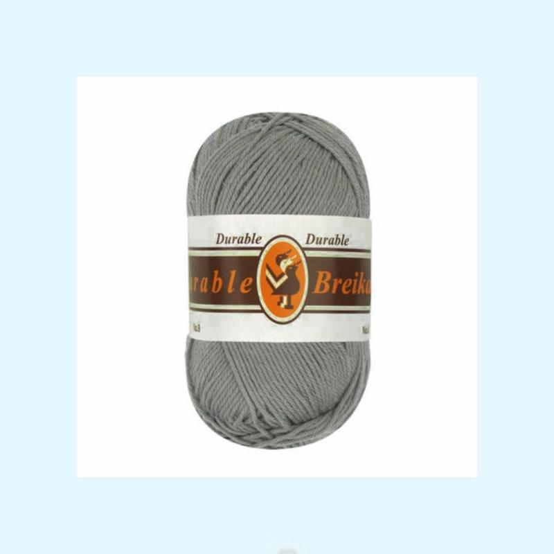 durable brei-/haakkatoen grijs