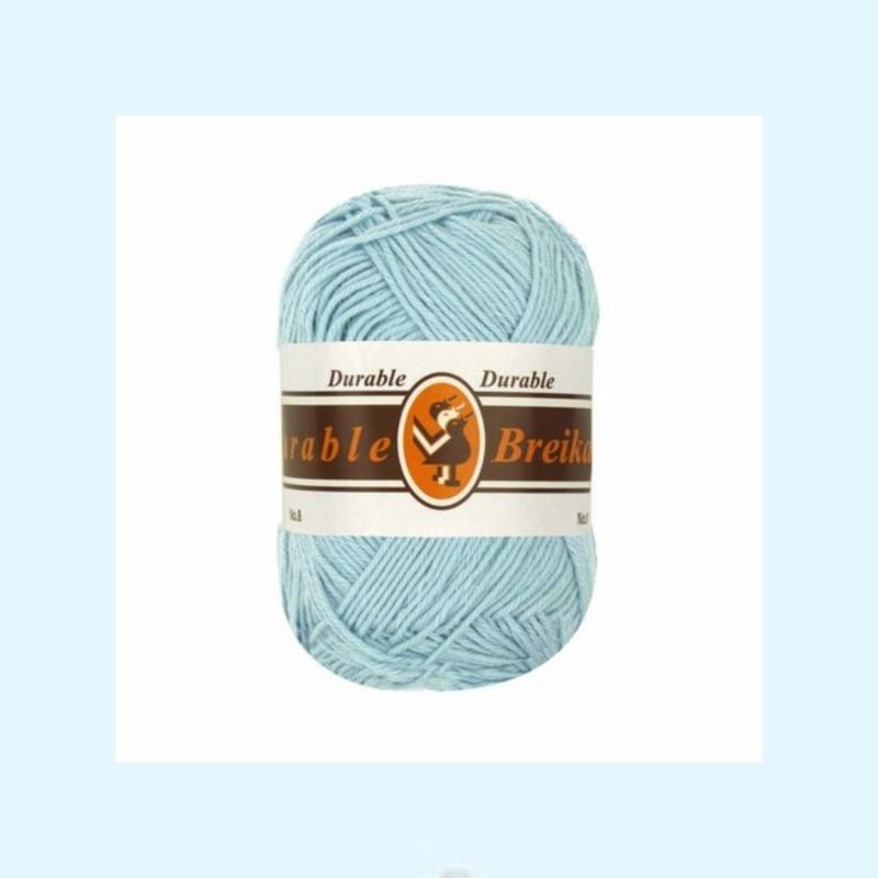durable brei-/haakkatoen grijsblauw