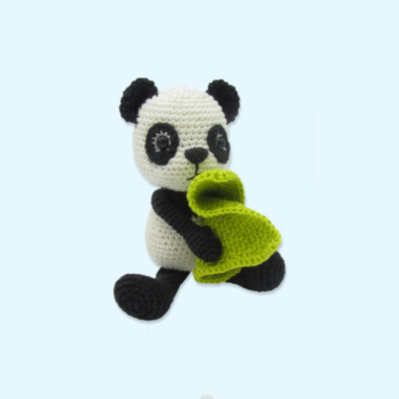 Haakpakket Tom de panda - Hardicraft