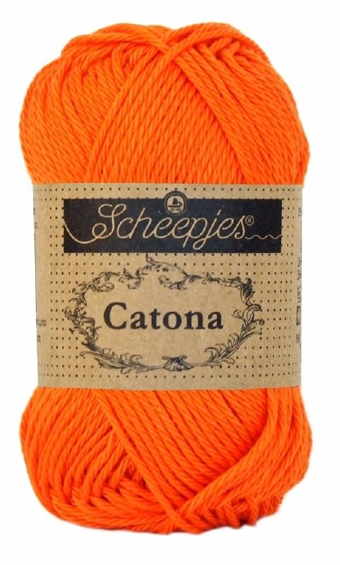 Scheepjes Catona  royal orange 189 - 50 gram