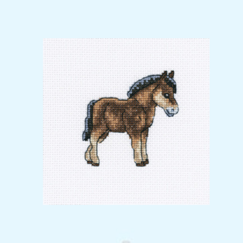 Borduurpakket Dutch horse - RTO