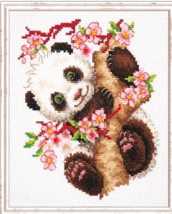 Borduurpakket panda - Magic Needle
