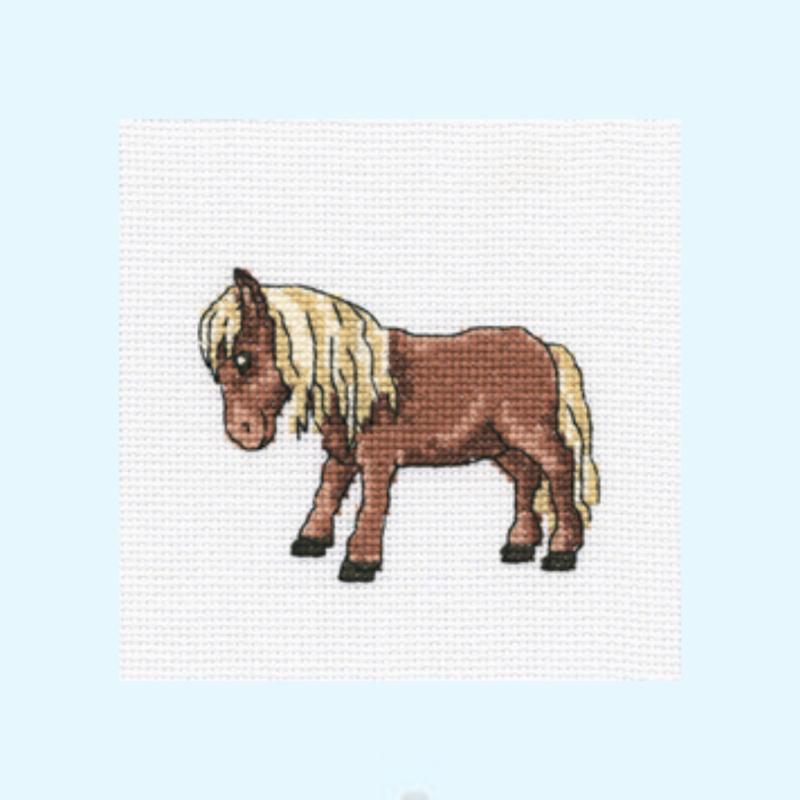Borduurpakket Tibetan horse - RTO