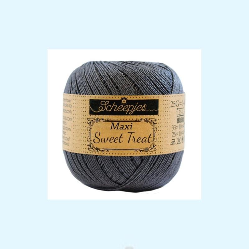 Scheepjes Maxi sweet treat  garen 393 charcoal - 25 gram