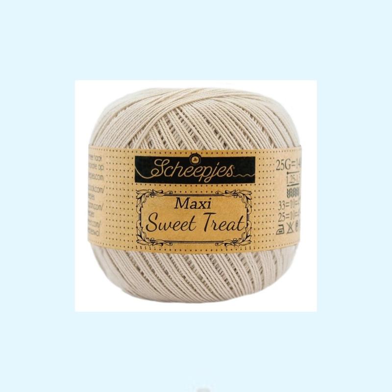 Scheepjes Maxi sweet treat  garen 505 linnen - 25 gram