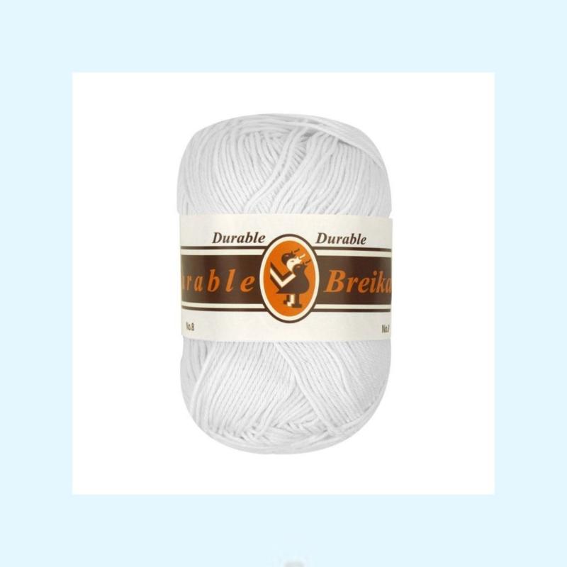 durable brei-/haakkatoen zwart