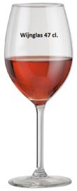 Rode wijn glas 47 cl per 15 stuks