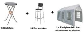 Pakket 2.1  -  Tent zelf opbouwen