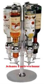 Dranken Carrousel  | voor 6 flessen van 0,7 liter tot 1 liter