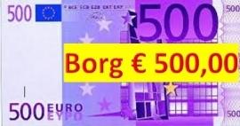 Borg 500 euro