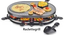Raclettegrill met 8 pannetjes