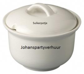Suikerpot + Suikerlepeltje - 25 cl.