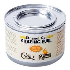 Brandpasta voor Chafing Dish