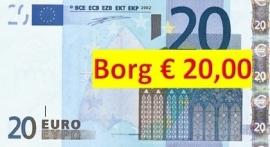 Borg 20 Euro