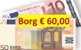 Borg 60 euro