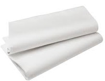 Tafel linnen  | Wit | Geschikt voor buffet tafel - 80 cm. X 180 cm.