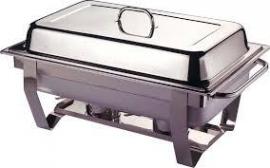 Chafing Dish - met 3 warm houd bakken
