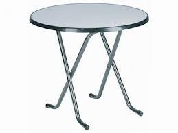 Terras tafel Ø 85 cm. + Brabants bont tafellinnen