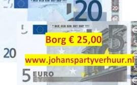 Borg 25 Euro